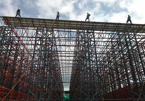 construcción de techos y cubiertas